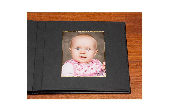 Barnbilder porträttalbum