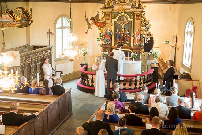 Bröllop vigsel Råda kyrka Mölnlycke