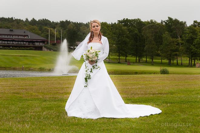 Bröllopsfotografering Albatross Golfklubb