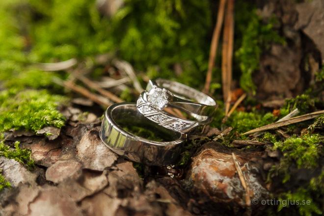 Bröllopsfotografering i Mölnlycke