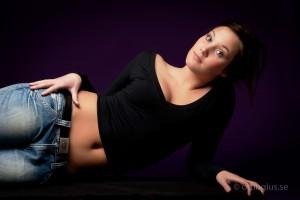 Modellfotografering av modell
