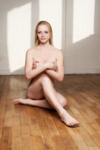 Sensuell bild från en modell fotografering