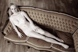 Budoir fotografering i Göteborgs studion