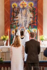 Bröllop och vigsel i Vallda kyrka, Kungsbacka