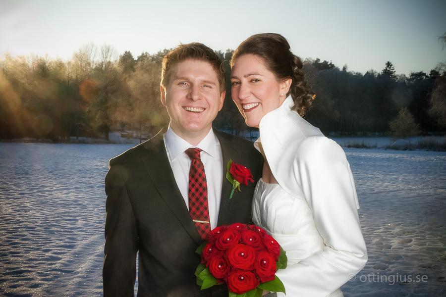 Vinterbröllop i Landvetter