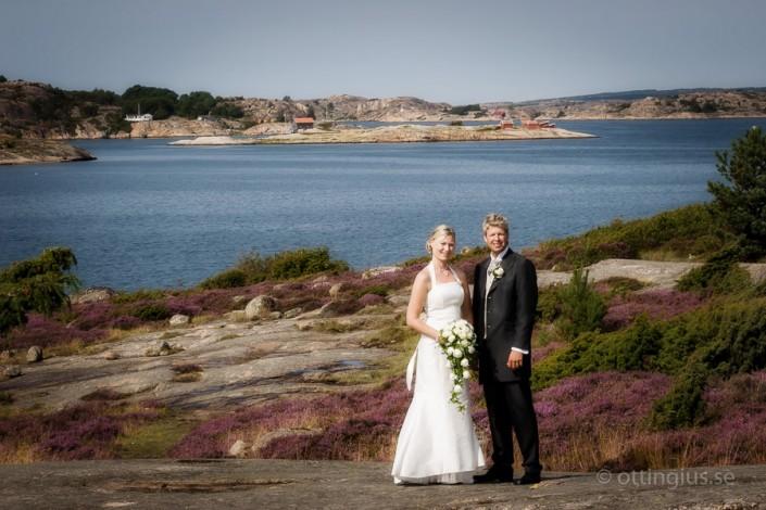 Bröllopsfoto från Bohuslän