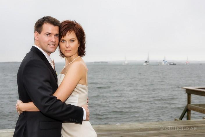 Bröllopsbild från Långedrags Värdshus