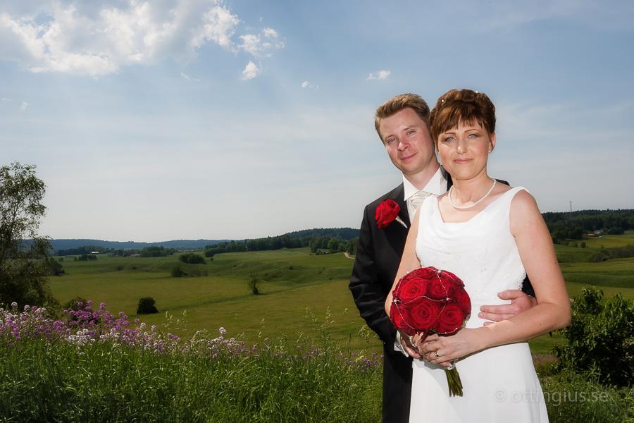 Bröllopsfotografering på Hisingen
