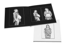 Porträttalbum med gravidbilder