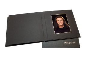 Porträttalbum från porträttfotografering